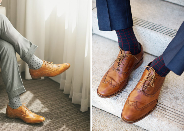 how to match socks with pants