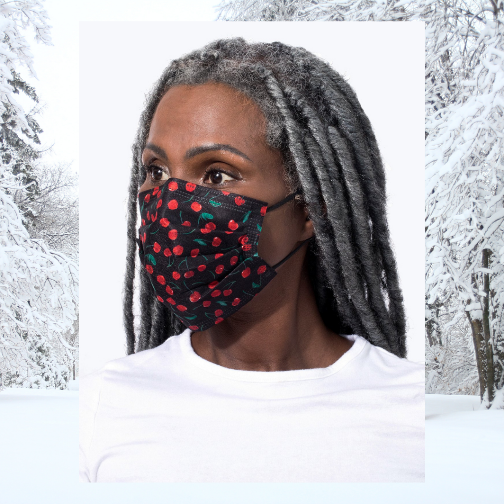 barriere cherry face mask