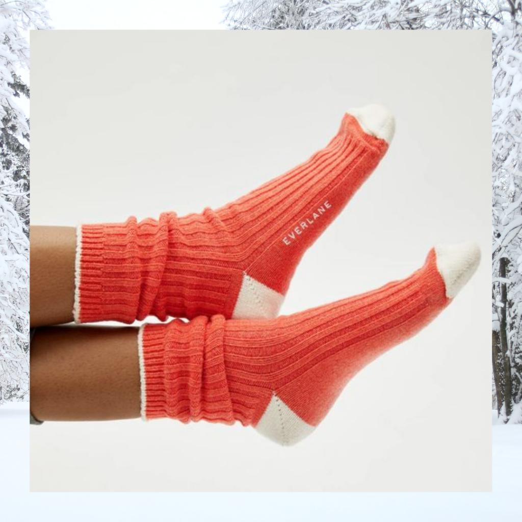 everlane wool cashmere socks