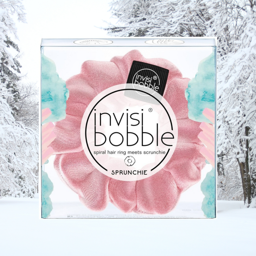 invisibobble pink scrunchies