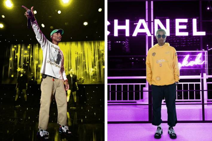 pharrell williams cropped pants