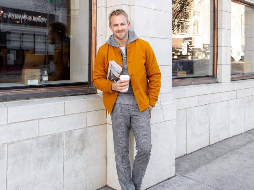 How to wear Goldenrod: The Guy's Guide to Sporting More Color