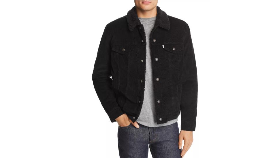 how to wear a corduroy trucker jacket