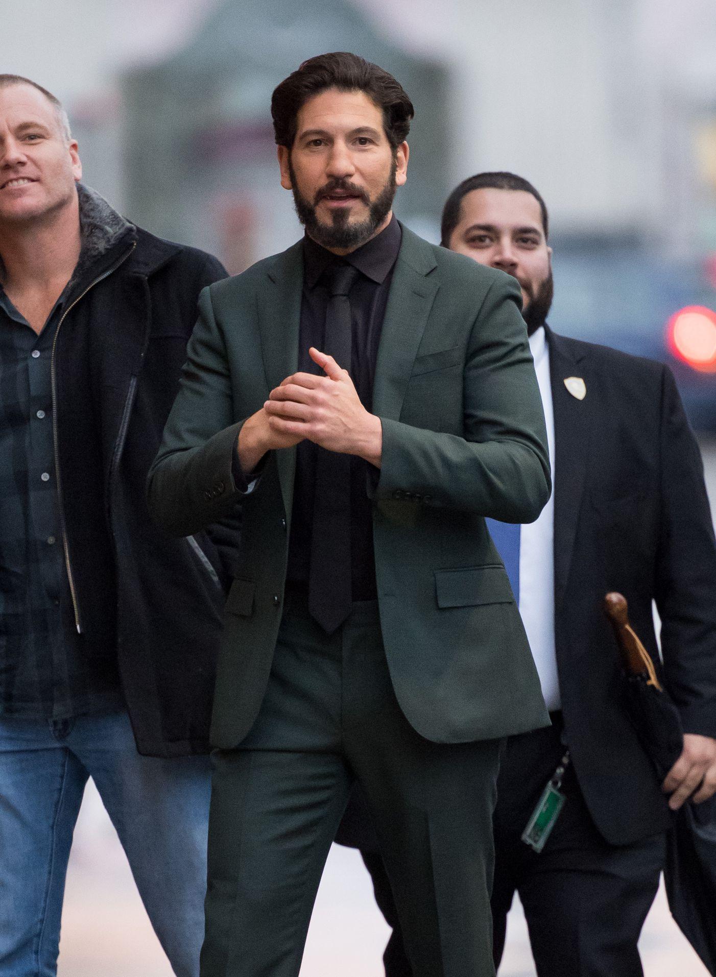 jon bernthal green suit