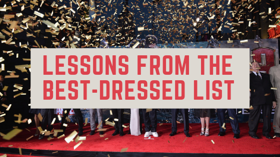 lessons from the best dressed list