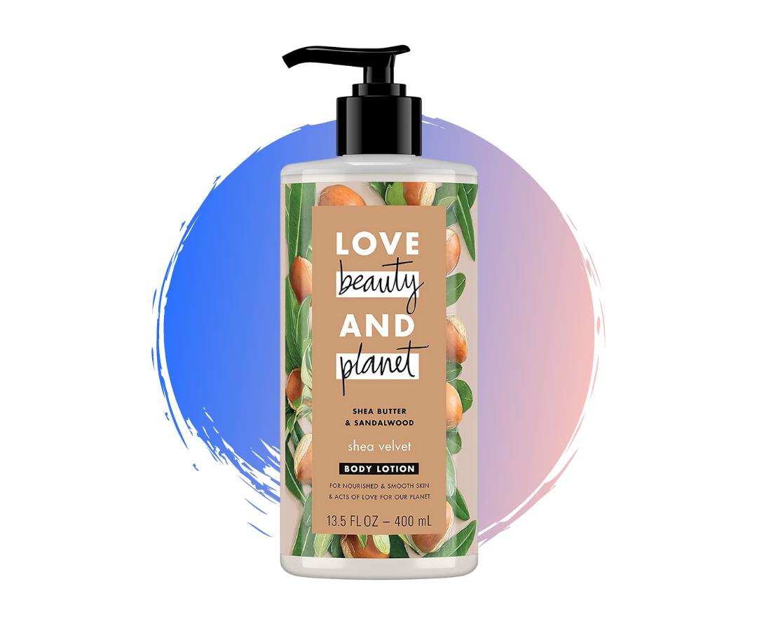 love beauty planet shea butter body lotion