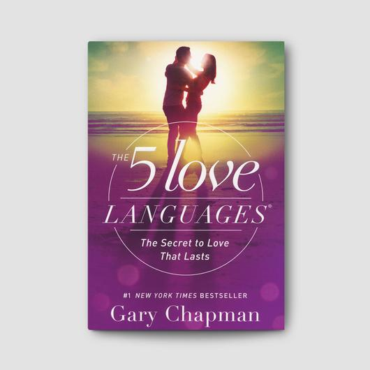 5 love languages book cover, how to give good gifts