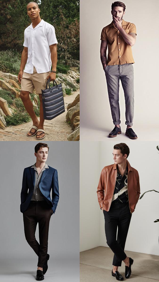 cuban collar shirt mens fashion trend 2019