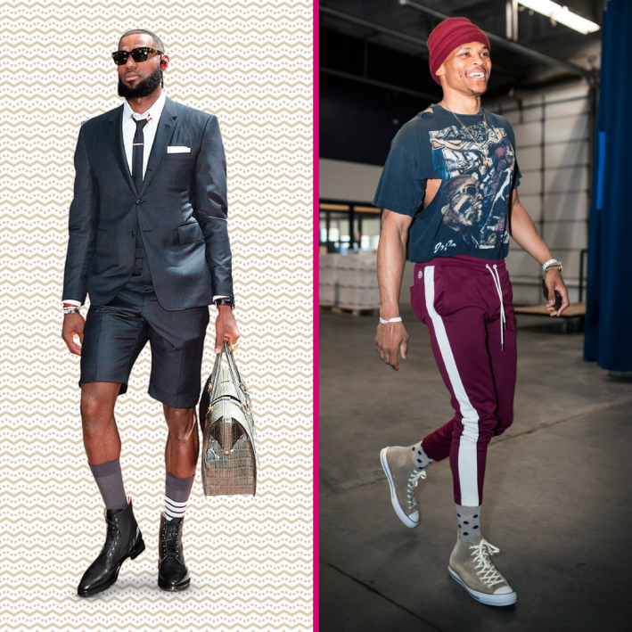 lebron james vs russell westbrook sg madness 2019