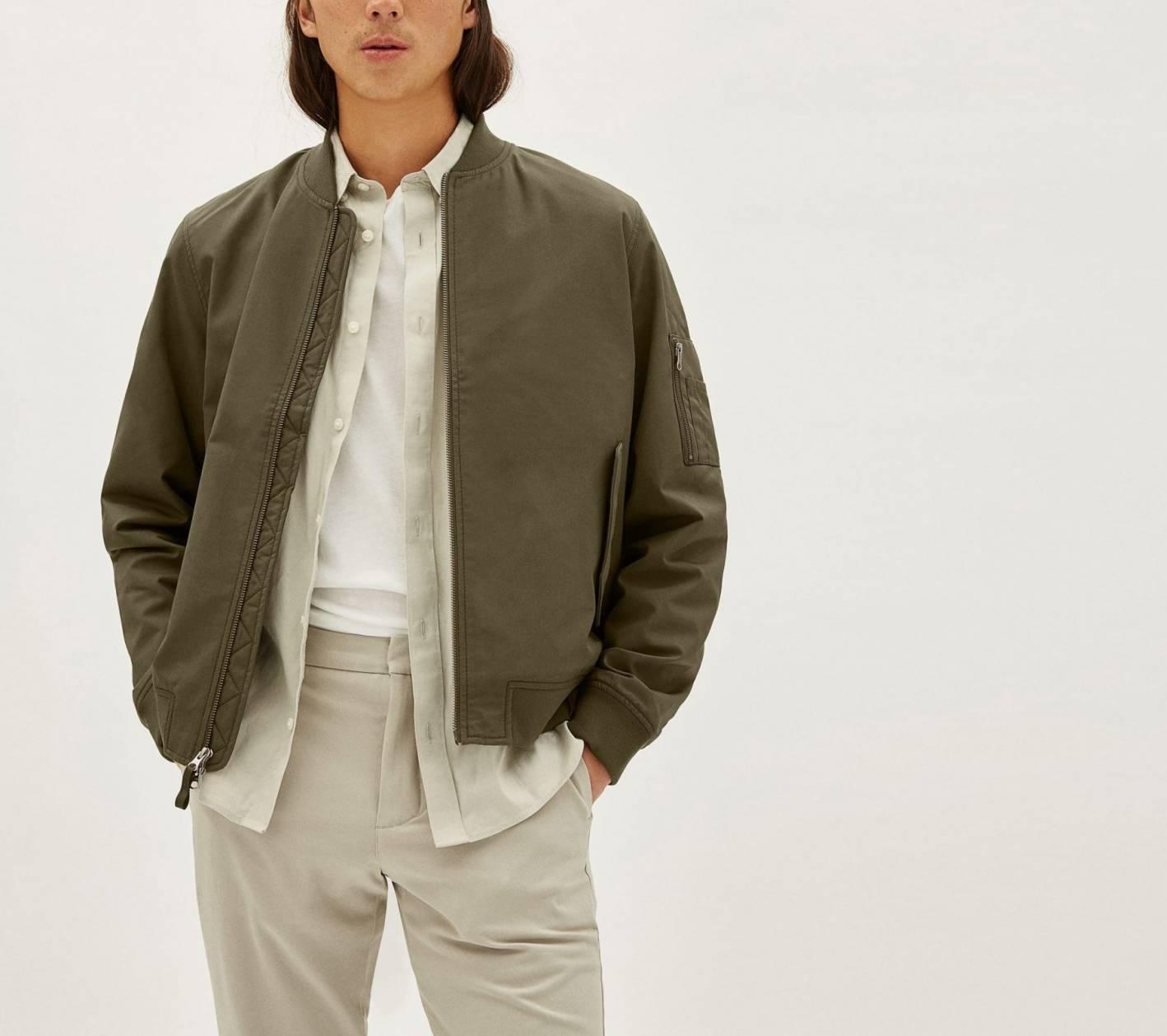 everlane bomber jacket 2021