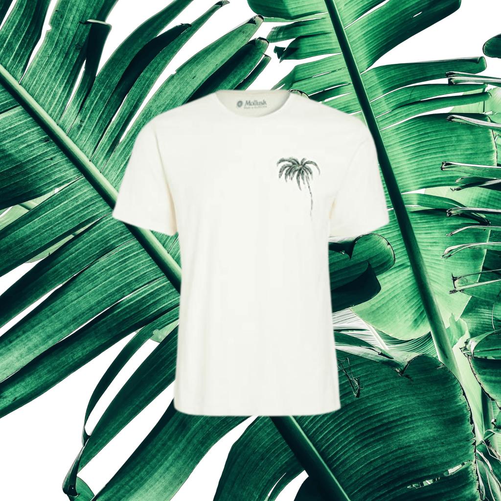 mollusk palm print t-shirt