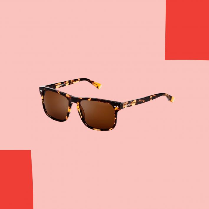 mvmt tortoiseshell sunglasses