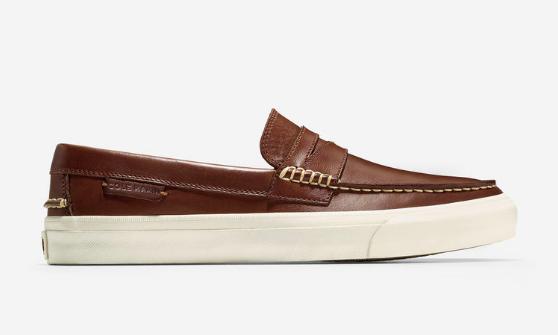 cole haan penny loafer boat shoe hybrid, cole haan weekender shoe