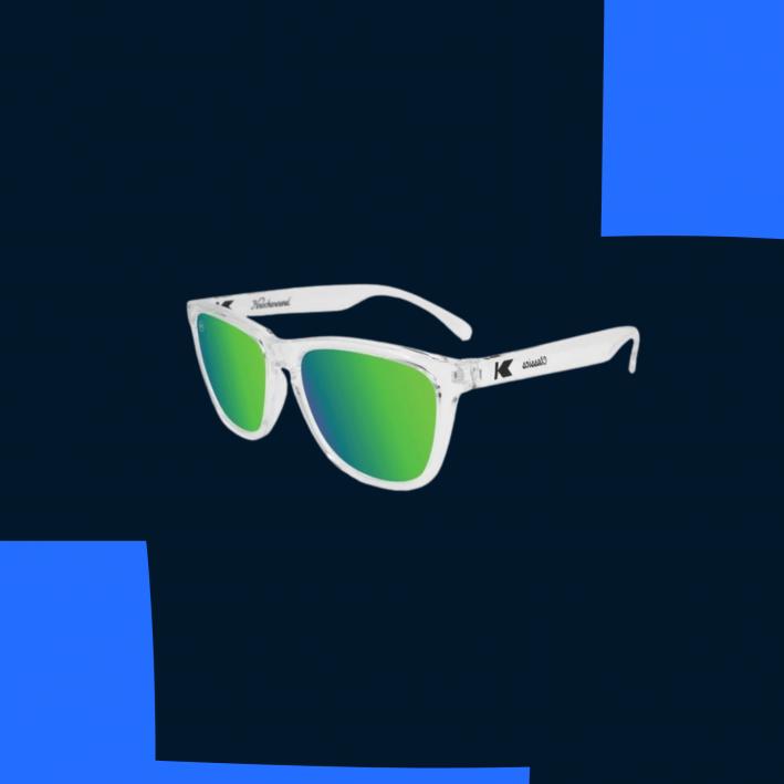 knockaround green tint sunglasses