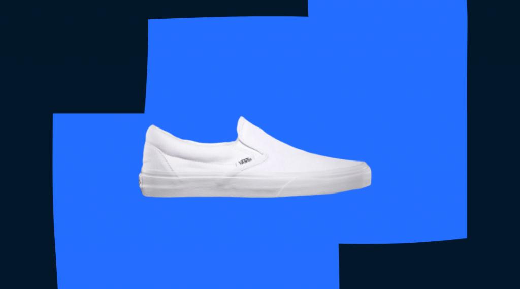 vans classic slip-on in white