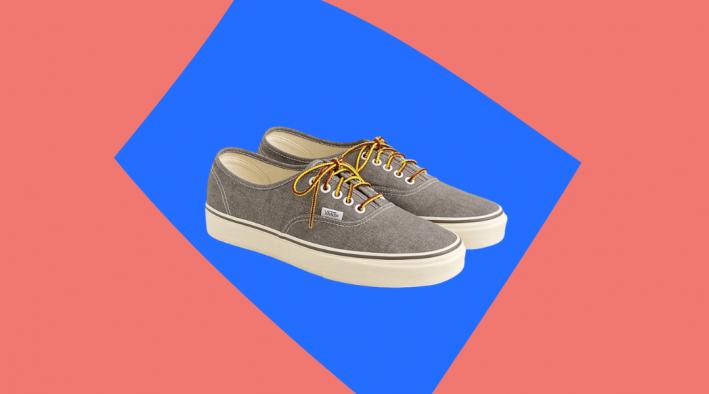 vans for j.crew canvas sneakers