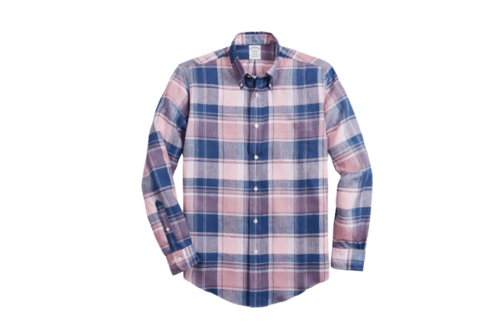 brooks brothers milano fit sport shirt