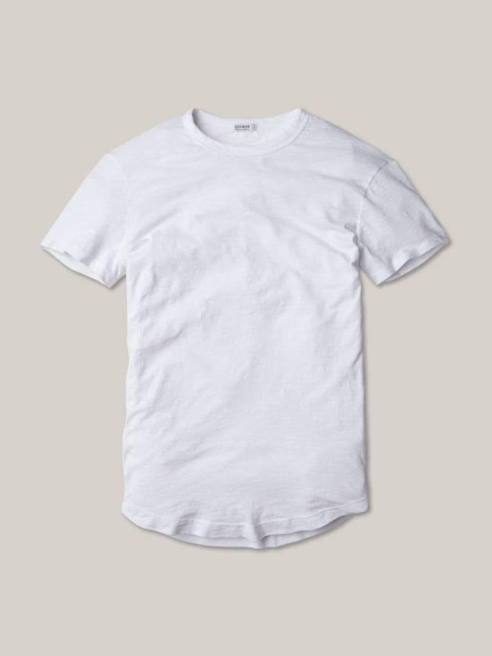 buck mason white t-shirt