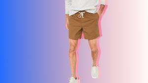 men's drawstring shorts outfits 2021