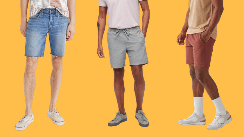 men's shorts outfits