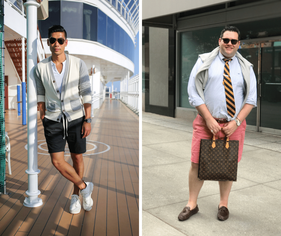 how to wear shorts with a sweater, dressy shorts outfits