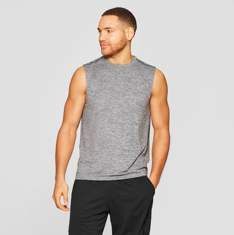 target activewear tank top for men