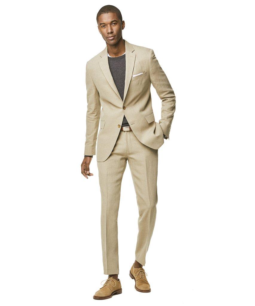 todd snyder linen suit