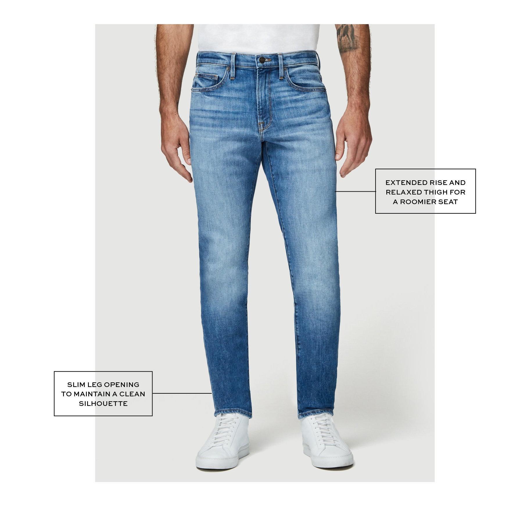 Frame denim L'homme athletic fit jeans
