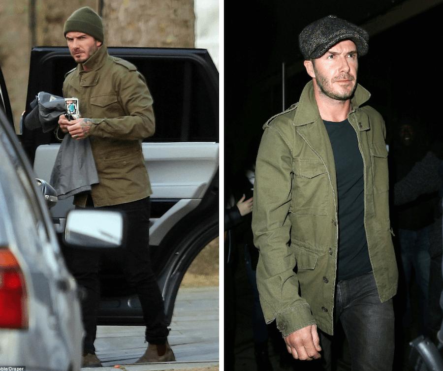 david beckham field jacket