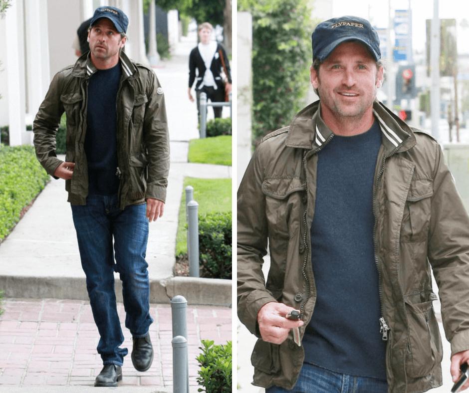 patrick dempsey field jacket