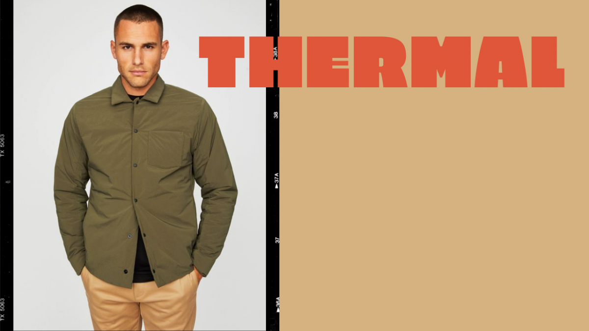 hill city thermal light shirt jacket