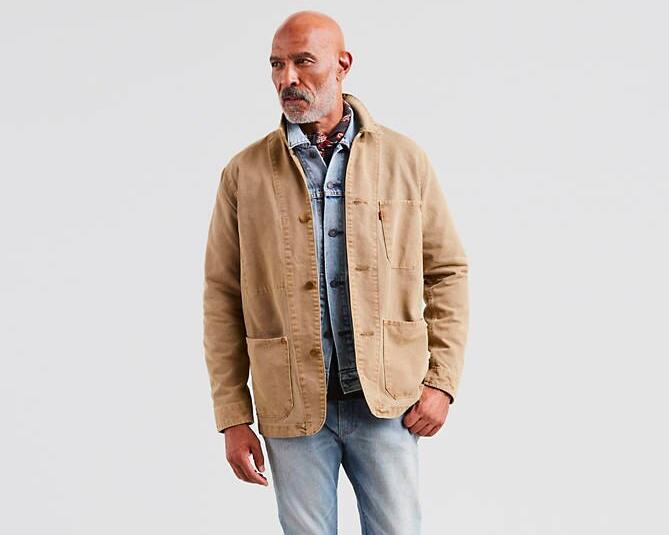 levi's chore jacket