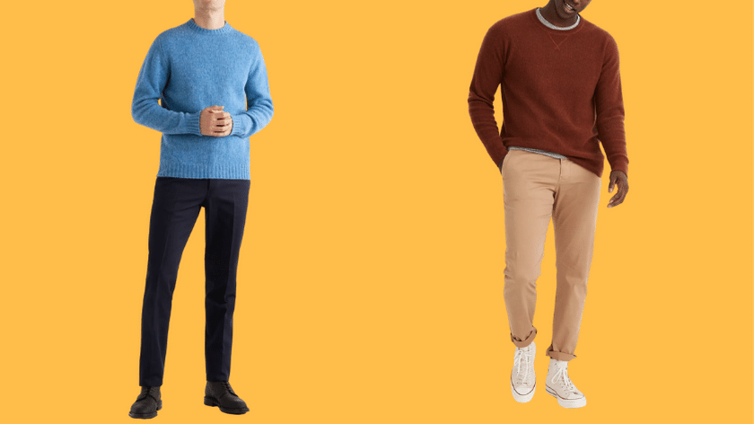 best fall sweaters for men 2020