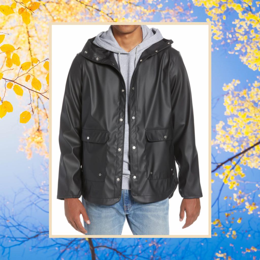 herschel supply waterproof rain parka, fall jackets for guys