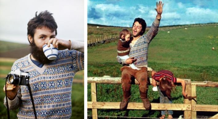 paul mccartney fair isle sweaters