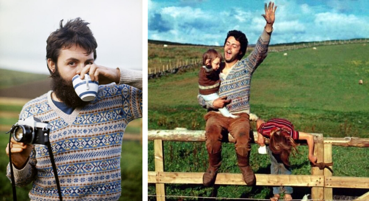 paul mccartney fair isle sweaters