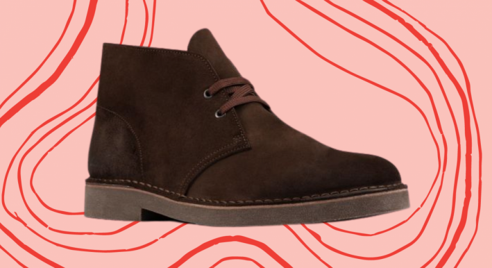 clarks brown chukka boot