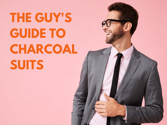 guy's guide to charcoal suits