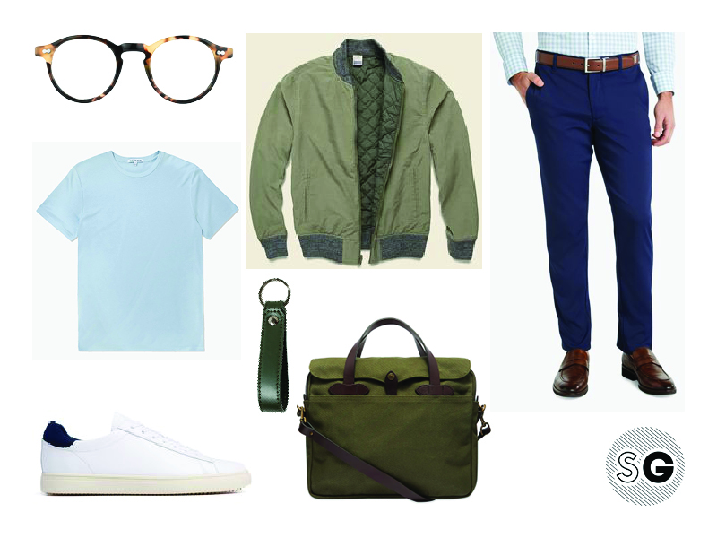 performance chino pants outfit