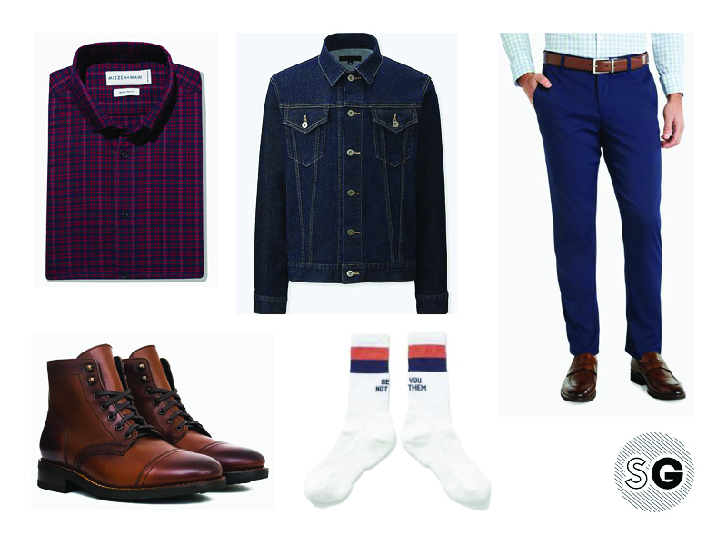 tech chinos outfit