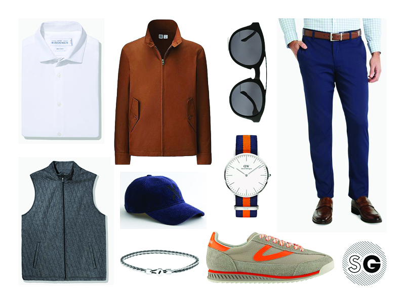 what to wear with performance chino pants