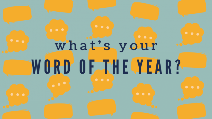 choosing a word of the year 2020