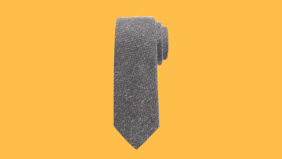 how to wear a textured tie