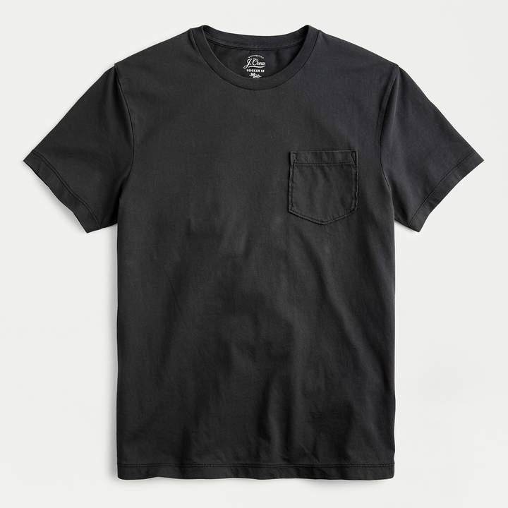 j.crew pocket crewneck t-shirt