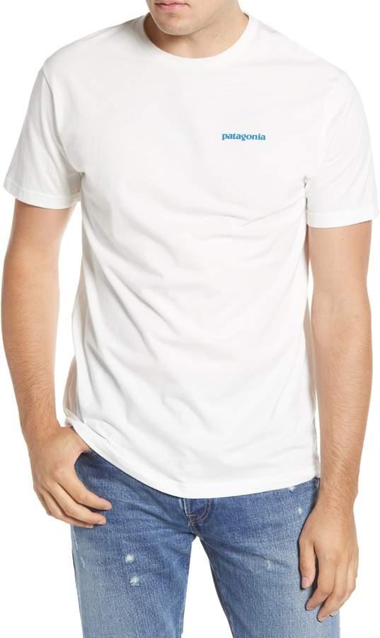 patagonia white t-shirt