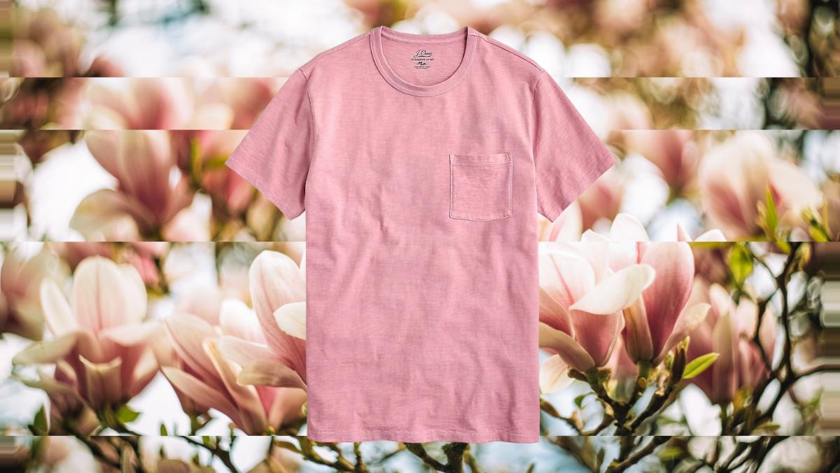 men's spring t-shirts