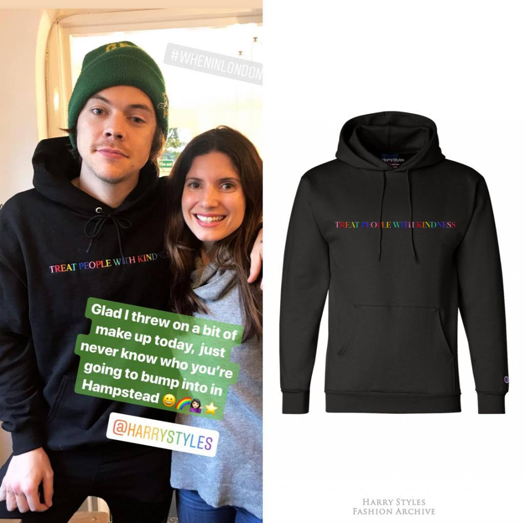 harry styles treat people with kindness sweatshirt