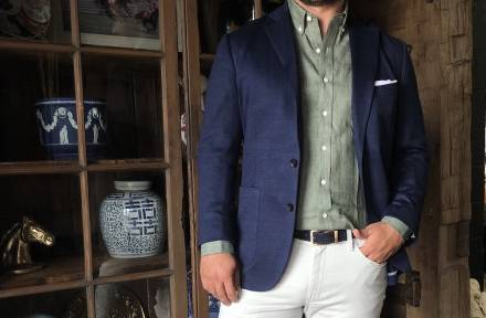 Casual Men's Spring Outfits From a Made-to-Measure Entrepreneur