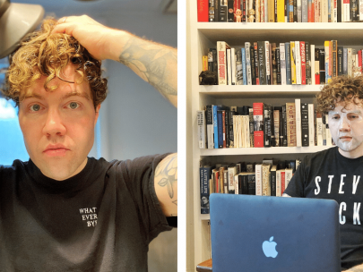 This Grooming Editor's Men's Hair and Skincare Routine is Intense