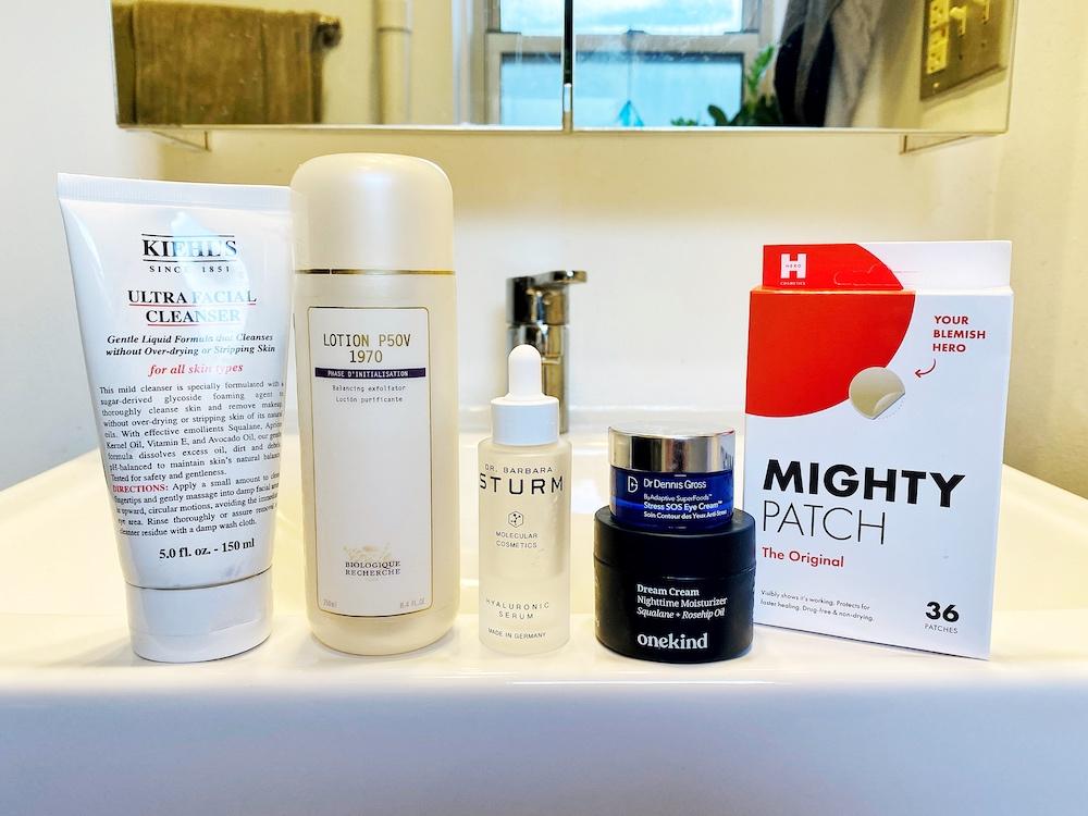 expert men's skincare routine